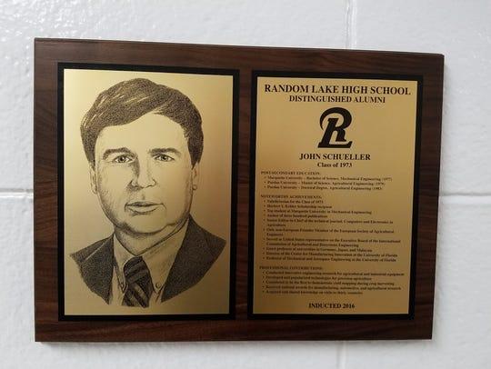 John Schueller's Distinguished Alumni Award at Random