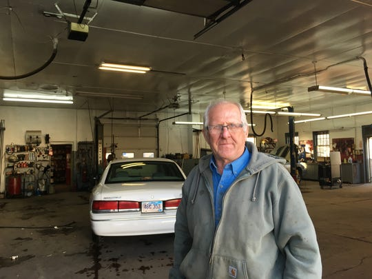 Ed Meyer, a mechanic and owner of Meyer Motor in Bridgewater,