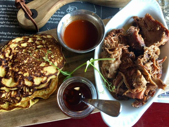 Pork and pancakes from Summerlin Jake's in south Fort Myers.