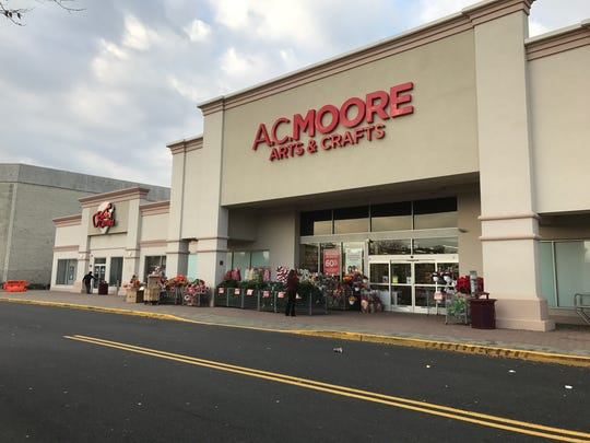 Photo of A.C. Moore and Guitar Center at Seaview Square Shopping Center in Ocean Township.