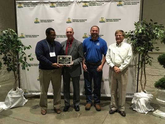 Parks Department wins two awards at state Conference