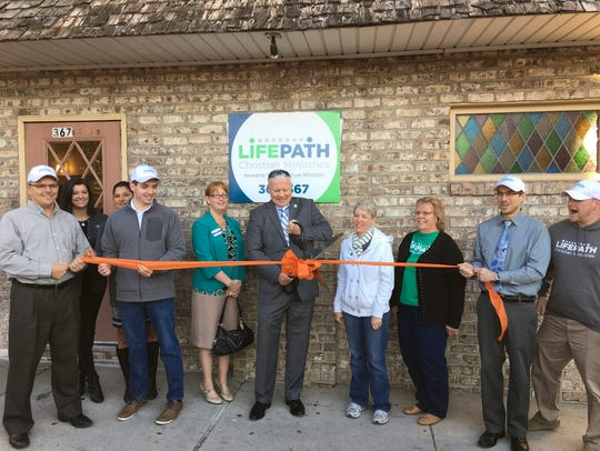 On Nov. 18, 2016 LifePath Christian Ministries, formerly York Rescue Mission, celebrated its rebranding and new name with a ribbon-cutting ceremony at its 367 W. Market St. location in York.