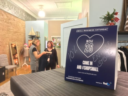 Small Business Saturday at Brinkley's Boutique