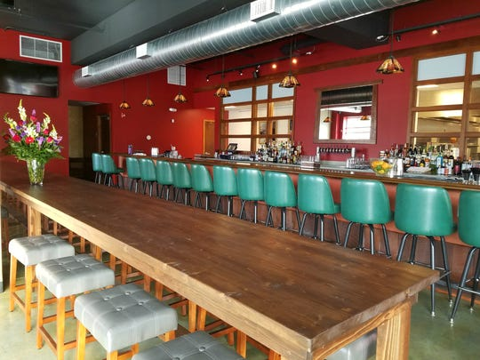 Many of LongBranch's 80 seats are at the bar and communal table. The patio will hosts another 30 seats in spring. Find LongBranch at 2205 N. Delaware St., in Indianapolis' Fall Creek Place neighborhood.