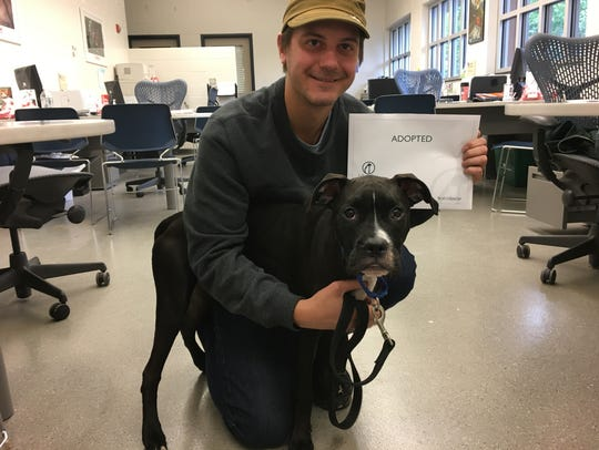 Dean Malik waited for just the right dog to adopt into