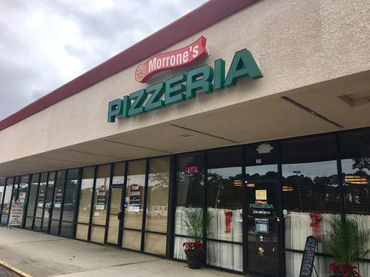 Morrone's Pizzeria opened in October on Bayshore Road