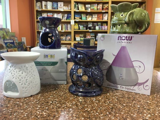 Now Solutions Ultrasonic Oil Diffuser (far right)
