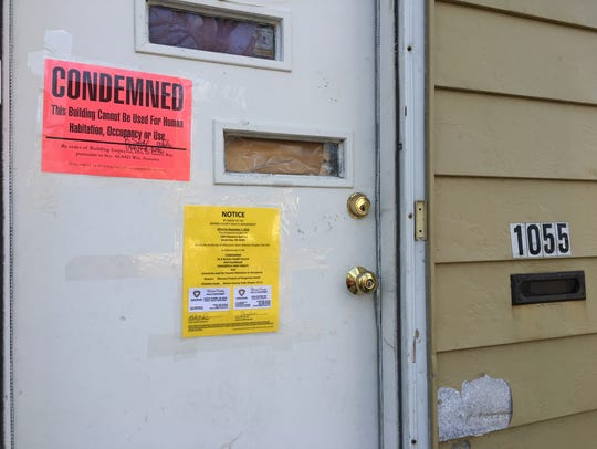 Notices posted by the Brown County Health Department