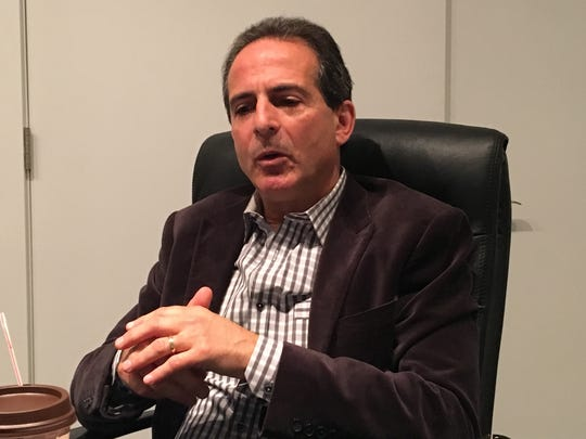 Bob Gold, CEO of GoMo Health, discusses his business in Asbury Park.
