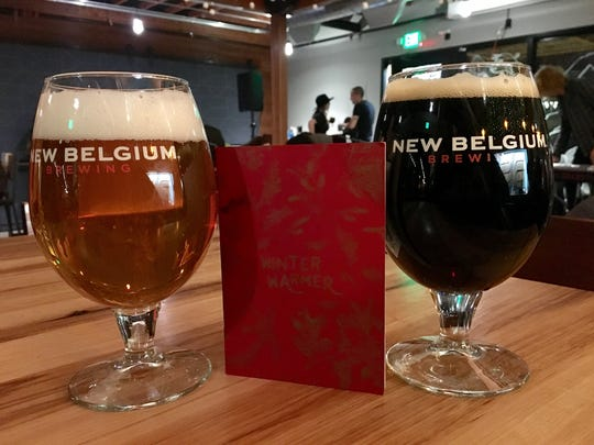 A 2-for-1 deal at New Belgium using the Fort Collins Winter Warmer booklet.