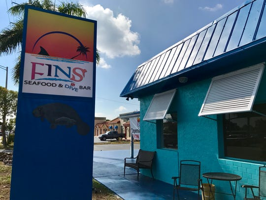 FINS Seafood & Dive Bar opened in Cape Coral in February.