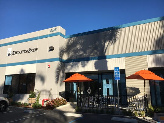 Wicked's Brew is in a Ventura business park at 4561 Market St., Suite C. Its neighbors include Surf Brewery and the Cafe Altura coffee roasting plant.
