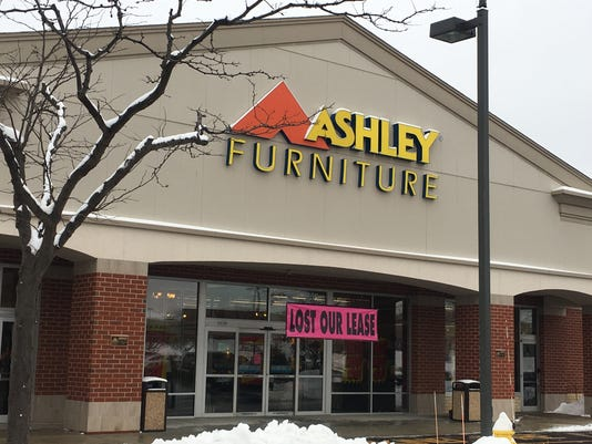 Brookfield's Ashley store loses lease