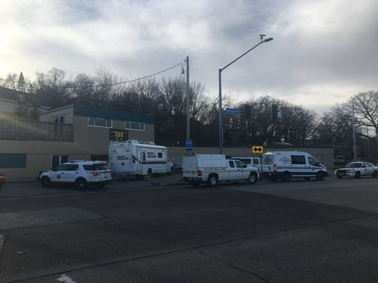 Police investigate a New Year's Day homicide at 508 Indianola Avenue Sunday morning. Police say an 18-year-old male was gunned down after an early morning altercation at the nightclub.