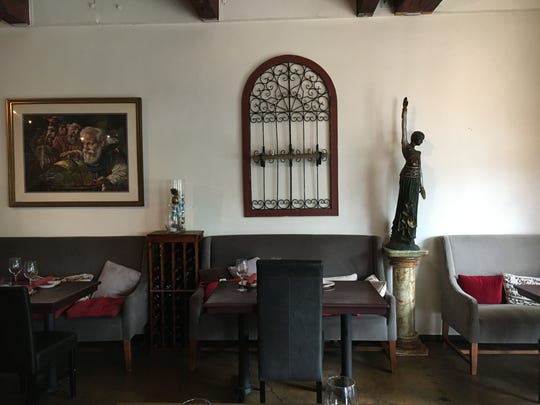 Verona Trattoria in Old Town Camarillo offers seating for about 50 in the form of chairs, bar stools and settees. Members of the family that founded the restaurant in 1995 plan to close the business and move to a new location in 2017.
