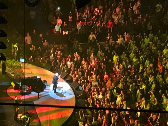 Billy Joel performed at the BB&T Center in Sunrise