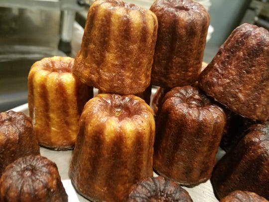 Canelé at Circle City Sweets Boulangerie, a bread bakery