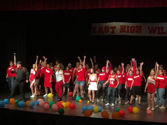 """Life imitates art in McKay High School's stage production of Disney's """"High School Musical."""""""