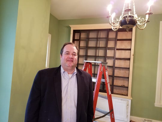 Chris Phelan, president and CEO of the Hunterdon County Chamber of Commerce, in his new office