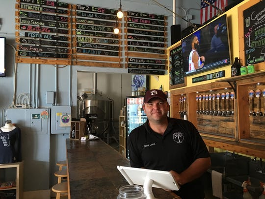 Will Lawson opened Naples Beach Brewery in December 2012.