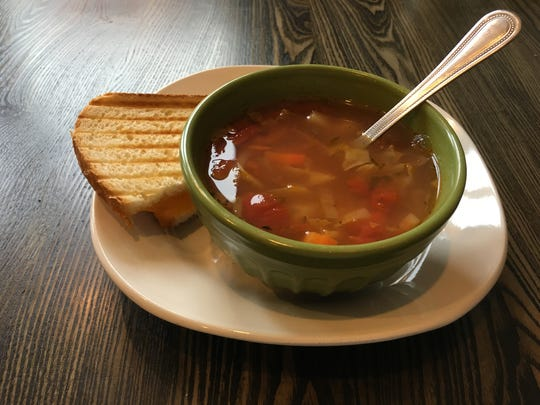 Autumn Vegetable soup from Heavenly Soups in Sheboygan Falls.