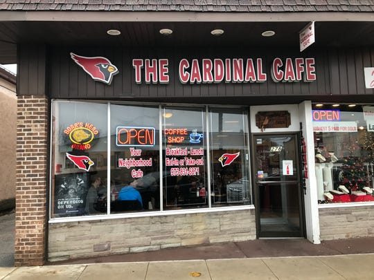The Cardinal Café on Wanaque Avenue in Pompton Lakes