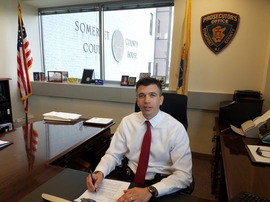 John Fodor, the new chief of detectives in the Somerset