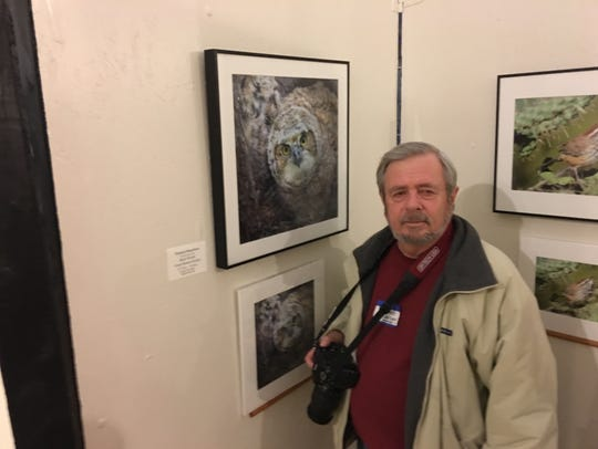 David Dusenbery of Albuquerque won the Animals category