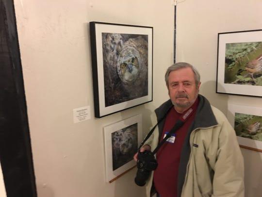 David Dusenbery of Albuquerque won the Animals category