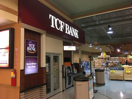 TCF Bank supermarket branches to close