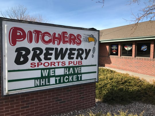 Pitcher's Sports Brewery makes its own beer and also serves as your classic sports bar.