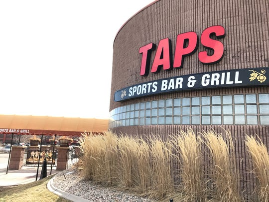 New owners recently overhauled the menu at Taps Sports Bar & Grill.