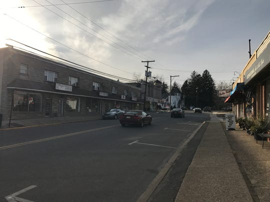 Main Street in downtown Bloomingdale is the focus of a redevelopment plan.