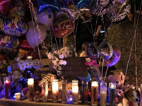 Mesa community members and family gathered on Saturday,
