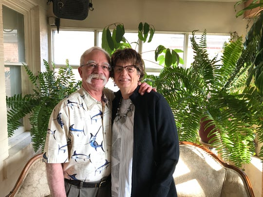 Clyde and Karen Canino met working together at Canino's Italian Restaurant. The couple wed in 1976.