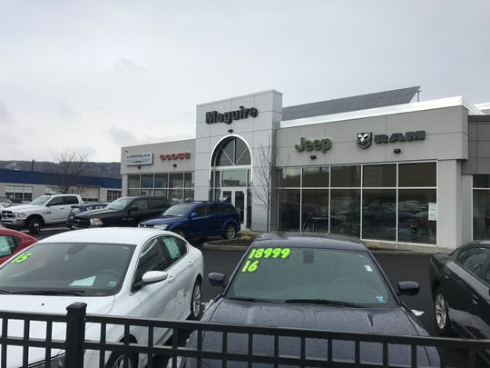 Maguire's Chrysler, Dodge, Jeep and Ram dealership