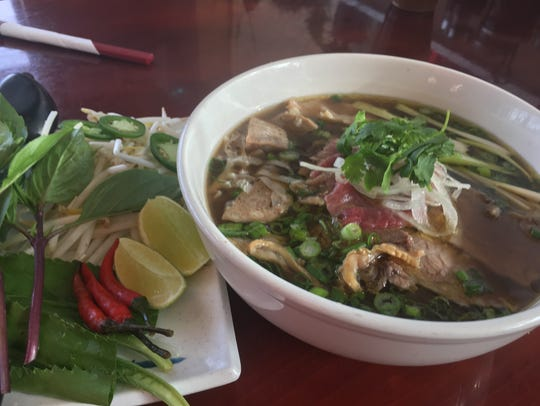Chef Don Cotran's award-winning pho from Pho 515. It took top prize in 2017's Pho King Cook-Off in Des Moines.