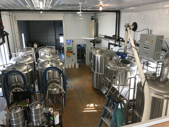 Expanded efforts at Stable Craft Brewing. The brewery — where the beer is actually brewed — is now twice the size.