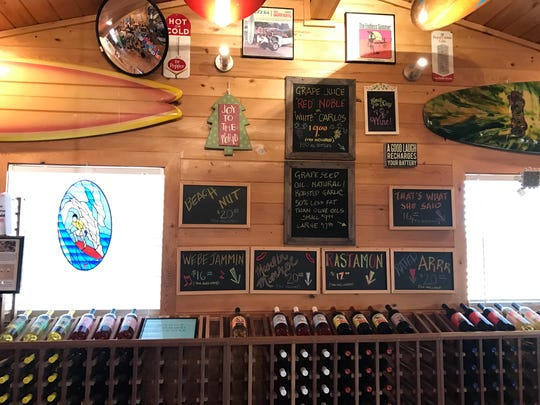 You can get 10 kinds of Summer Crush wine at the Fort Pierce vineyard and winery.