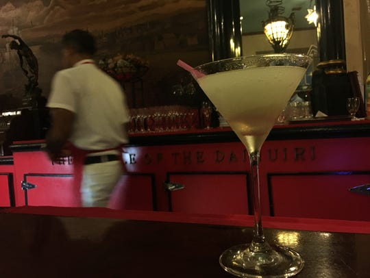 The daiquiri gained global prominence at El Floridita