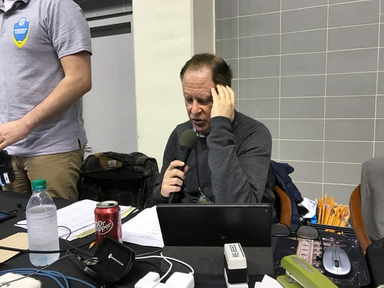 Brian Gordon has been announcing the SEC Swimming and Diving Championships for the last 17 years.