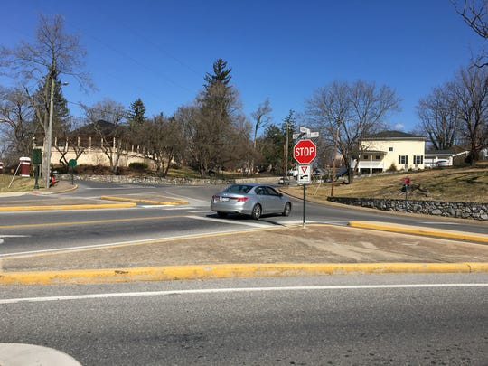 The intersection at Churchville and Thornrose avenues has seen eight accidents in the past five years.