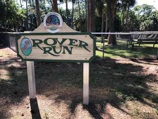 Rover Run Dog Park has two parks: one for big dogs