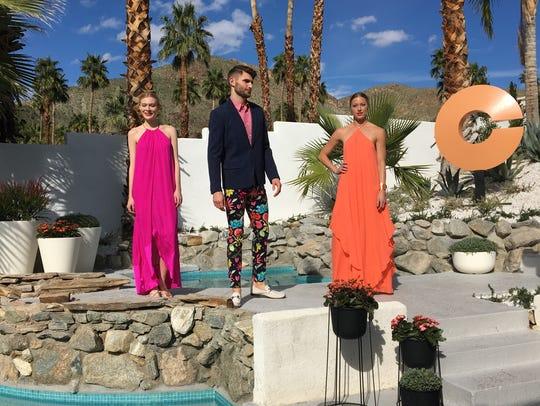 Trina Turk fashion show at Villa Golightly - the location