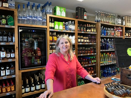 Wine Cellar owner Cynthia Holland said she had great contractors who helped her get up and running before Super Bowl Sunday.