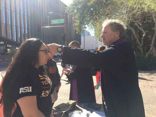 Ashes to Go at ASU downtown Phoenix campus
