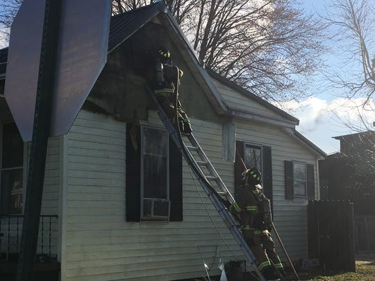 HFD checks for hot spots after a structure fire Friday