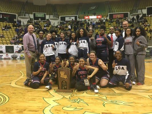 Lafayette Christian girls basketball