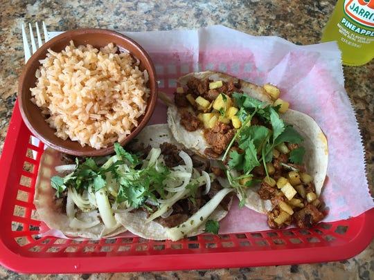El Taco Parado is building a following with flavorful tacos.