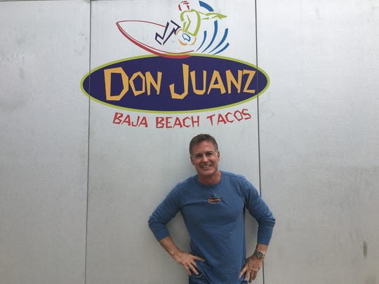 Don O'Bryne, owner of Don Juanz Baja Beach Tacos, finds